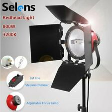 Dimmable 800W Redhead Light Studio Continuous Spot Lamp Tungsten Kit Photo Video