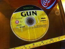Gun Microsoft XBOX Disk Only