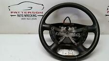2003 MOUNTAINEER LEATHER STEERING WHEEL GRAPHITE (8T) w/ CRUISE & RADIO CONTROL