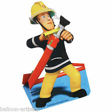 8 FIREMAN SAM Fun Stand Up Children's Birthday Party Invitations plus Envelopes