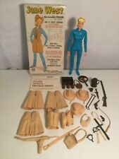 MARX JOHNNY WEST BEST OF THE WEST ACTION FIGURE ACCESSORIES JANE WEST COMPLETE