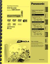 Panasonic Dmr-Es35V Dvd Recorder Owner's User Manual