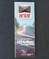 Guide plan accès 24 heures du Mans ACO juin 1976