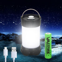 LED Portable Light Rechargeable Lantern Outdoor Camping Hiking Maget Tent Lamp