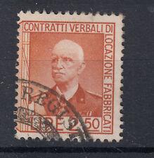 1936 MARCHE DA BOLLO CONTRATTI DI LOCAZIONE 2,50 LIRE II SEZIONE USATA