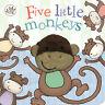 Five Little Monkeys (Little Learners Finger Puppet Book) (Board book)