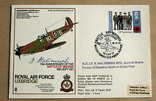 BATTLE OF BRITAIN 31ST ANNIV 1971 COVER SIGNED BY WW2 PILOT BRONISLAW MALINOWSKI