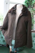 Max Mara Marella Padded Jacket Real Fur Collar