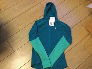 Pearl Izumi Womens Elite Thermal Cycling Hoody Size Medium Green