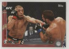 2015 Topps UFC Chronicles Red /8 Jose Aldo #127 Rookie