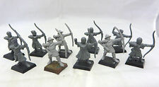 Warhammer Bretonnia Archers Bowmen army lot oop