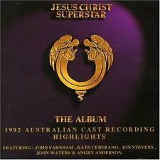 JESUS CHRIST SUPERSTAR The Album 1992 Australian Cast Highlights CD BRAND NEW