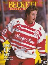 BECKETT HOCKEY MONTHLY FEB 1995 #52 MAGAZINE
