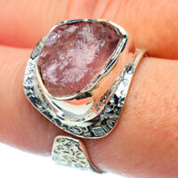 Rose Quartz 925 Sterling Silver Ring Size 8 Adjustable Ana Co Jewelry R38453F