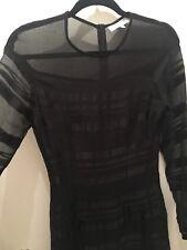 Maurie Eve Black Dress Size 8 Long Sleeve