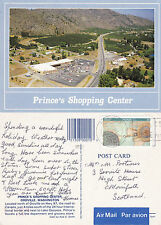 1992 PRINCES SHOPPING CENTER OROVILLE WASHINGTON UNITED STATES COLOUR POSTCARD