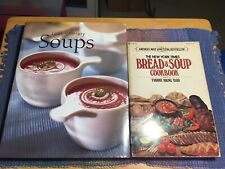 Lot of 2 Cookbooks1) cooks library soups 2003 #2) Ny Times bread & soup 1976