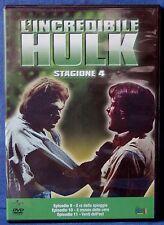 L'INCREDIBILE HULK - STAGIONE 4 - EPISODI 9-11 - DVD N.02629