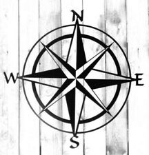Compass - North East South West - Di Cut Decal - Home/Laptop/Computer/Truck/Car
