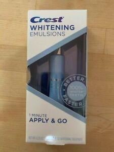 Crest Whitening Emulsions Apply and Go Whitening Treatment - 0.35 Oz (exp. 1/23)