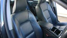 VOLVO S80 BLACK LEATHER ELECTRIC FRONT & REAR SEATS & DOOR TRIMS AS 01/07-12/16