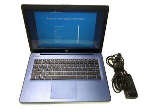 "HP 14-DS0003DX Stream 14"" Laptop AMD A4-Series 4GB Memory AMD Radeon R3 64GB"