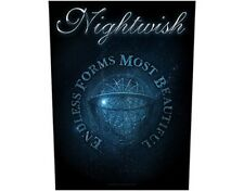 NIGHTWISH endless form 2015 - GIANT BACK PATCH  36 x 29 cms Official Merchandise