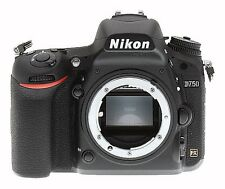 NEW Nikon D750 24.3MP DSLR Digital CAMERA BODY IN KIT BOX EU UK DELIVERY