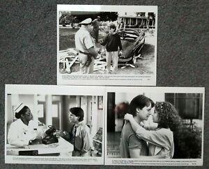LOT OF 3 ORIGINAL PRESS PHOTOS DOC HOLLYWOOD Michael J Fox