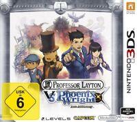 Nintendo 3DS Professor Layton vs Phoenix Wright Ace Attorney Sehr guter Zustand