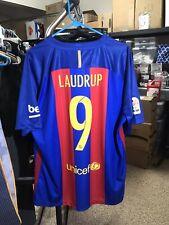 Nike 2016 2017 Laudrup XL FC Barcelona Home Shirt Jersey Camiseta Kit NWT