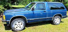 80-93 Chevy Chevrolet Blazer S-10 S10 Jimmy Tahoe DRIVER SIDE DOOR SHELL LH DOOR