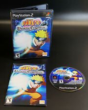Naruto: Uzumaki Chronicles (PS2 Sony PlayStation 2, 2002 ) Complete Game TESTED