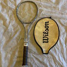 Wilson Metal Braided Tennis Racquet w/ Tennis Cover Bag