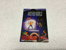 Another World Instruction Manual / Booklet Only Super Nintendo SNES UK UKV