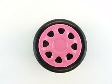 Barbie Magical Traveling Motorhome Mattel 1996 Replacement Wheel Pink Hubcap