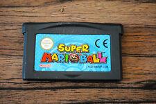 Jeu SUPER MARIO BALL pour Nintendo Game Boy Advance GBA
