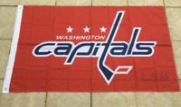 Washington Capitals 3x5 Ft Banner Flag Hockey Grommets New