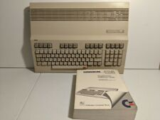 Commodore 128 (C128) Computer & Reference Guide - Untested/AS IS