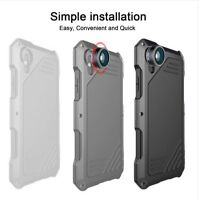 Coque Iphone XR Protection Anti Choc Bumper Kit Objectif Lentille Zoom Metal HD