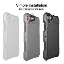 Coque Etui Iphone X Protection AntiChoc Bumper Kit Objectif Lentille Zoom Metal
