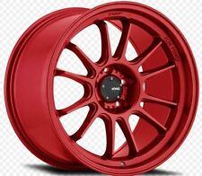 KONIG HYPERGRAM 18x8.5 5X112 +43 Red Opal Wheels (Set of 4)