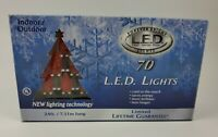 Christmas Lights New in box  20602R-B C6 LED Light Strands - Red Full Wave