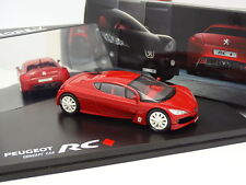 Norev 1/43 - Peugeot Concept Car RC Rojo