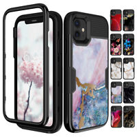 For iPhone 11 / 11 Pro Max Shockproof Heavy Duty Hard Case Hybrid Rugged Cover