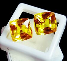 Loose Gemstone Natural Yellow Sapphire 6 to 8 Cts Pairs Certified  Z133