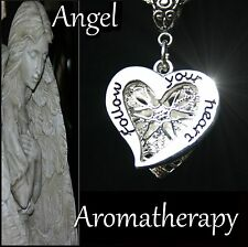 Essential Oil Diffuser Locket Necklace Follow Your Heart Aromatherapy US Seller