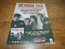 NEVADA TAN - Publicité de magazine / Advert NIEMAND HORT DICH - ALBUM DU MOIS !!