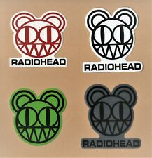Radiohead Sticker 90 00s Art Rock alternative Pop electronica Experimental indie