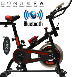 EVOLVE Exercise Bike w/BLUETOOTH SPORTS APP Cycle Indoor Training 10KG Flywheel
